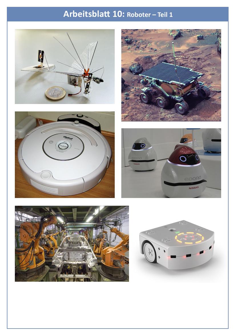 2.5: Zusammenfassung: Was ist ein Roboter?