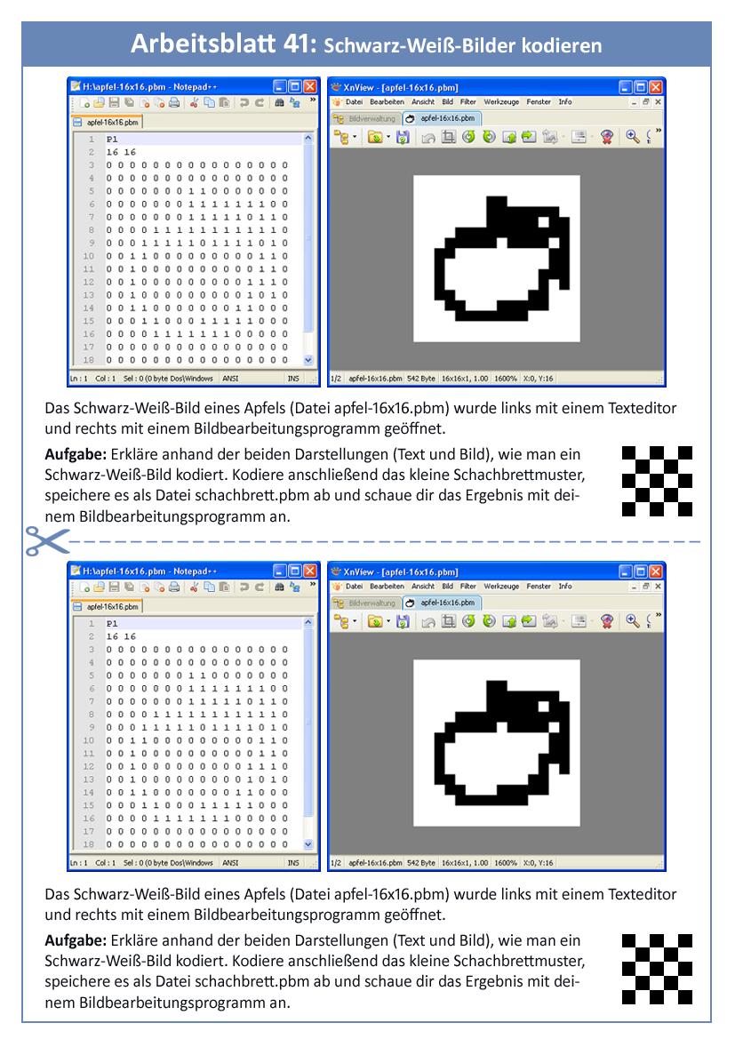 9.2: Schwarz-Weiß-Bilder kodieren