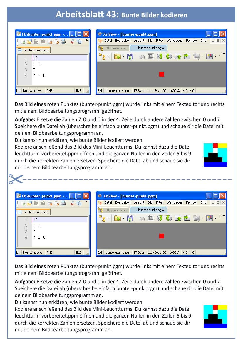 9.3: Graustufenbilder und bunte Bilder kodieren