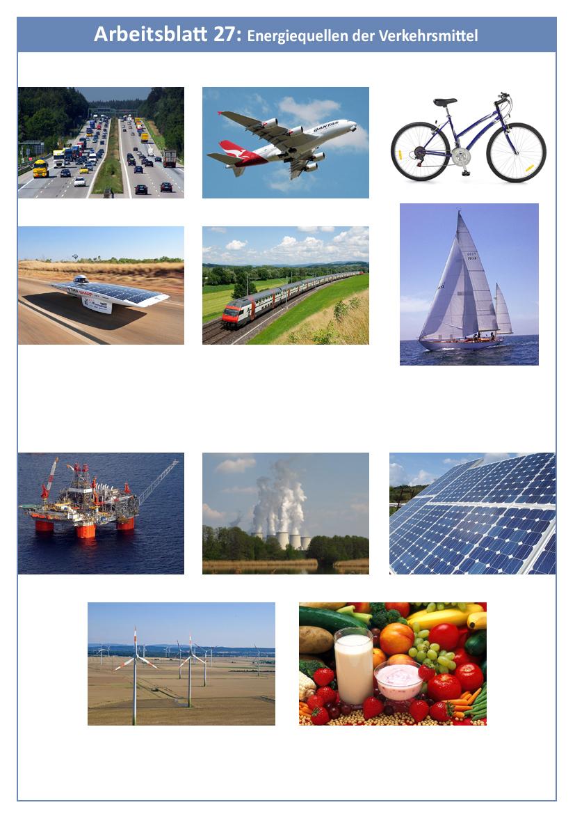 8.4: Mit welchen Energiequellen werden die verschiedenen ...