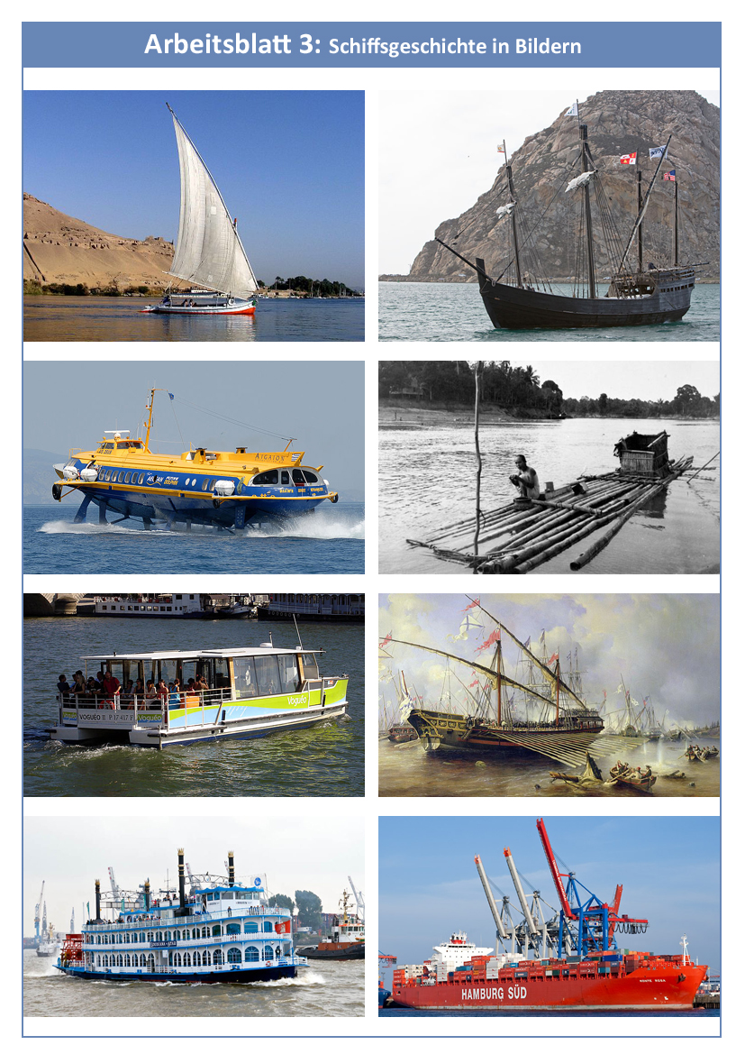 1.1: Eine kurze Schiffsgeschichte