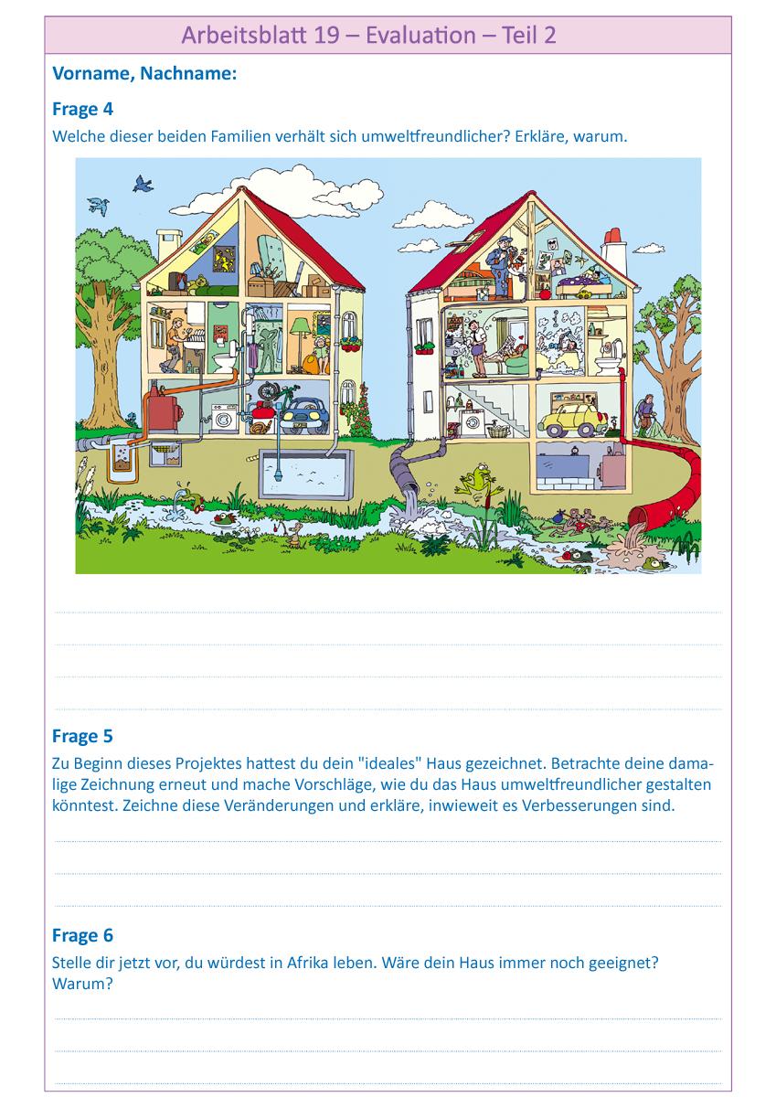 Arbeitsblätter zum Projekt \