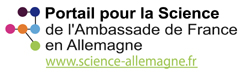 Logo 'Service Scientifique - Ambassade de France'